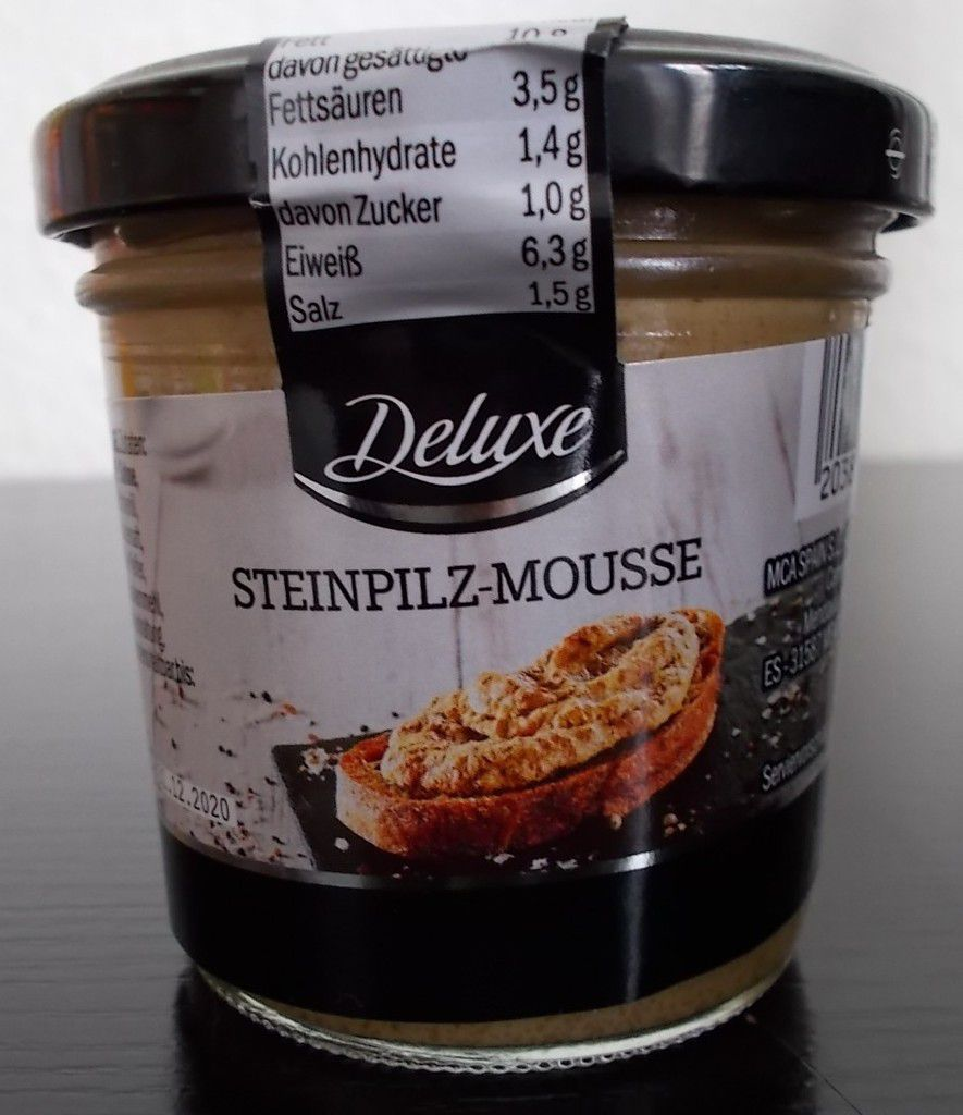 [Lidl] Deluxe Steinpilz-Mousse von MCA Spain