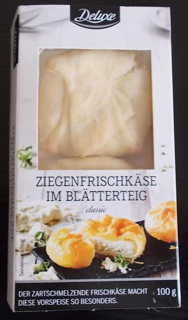 [Lidl] Deluxe Ziegenfrischkäse im Blätterteig Classic von Bemilac