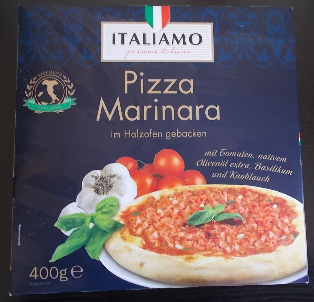 lidl italiamo pizza marinara im holzofen gebacken von paren produkttester von. Black Bedroom Furniture Sets. Home Design Ideas