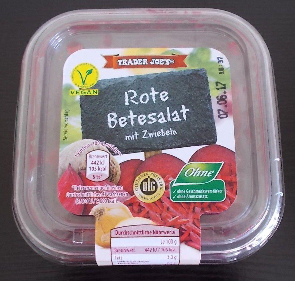 [Aldi Nord] Trader Joe's Gartensalate Rote Betesalat mit Zwiebeln