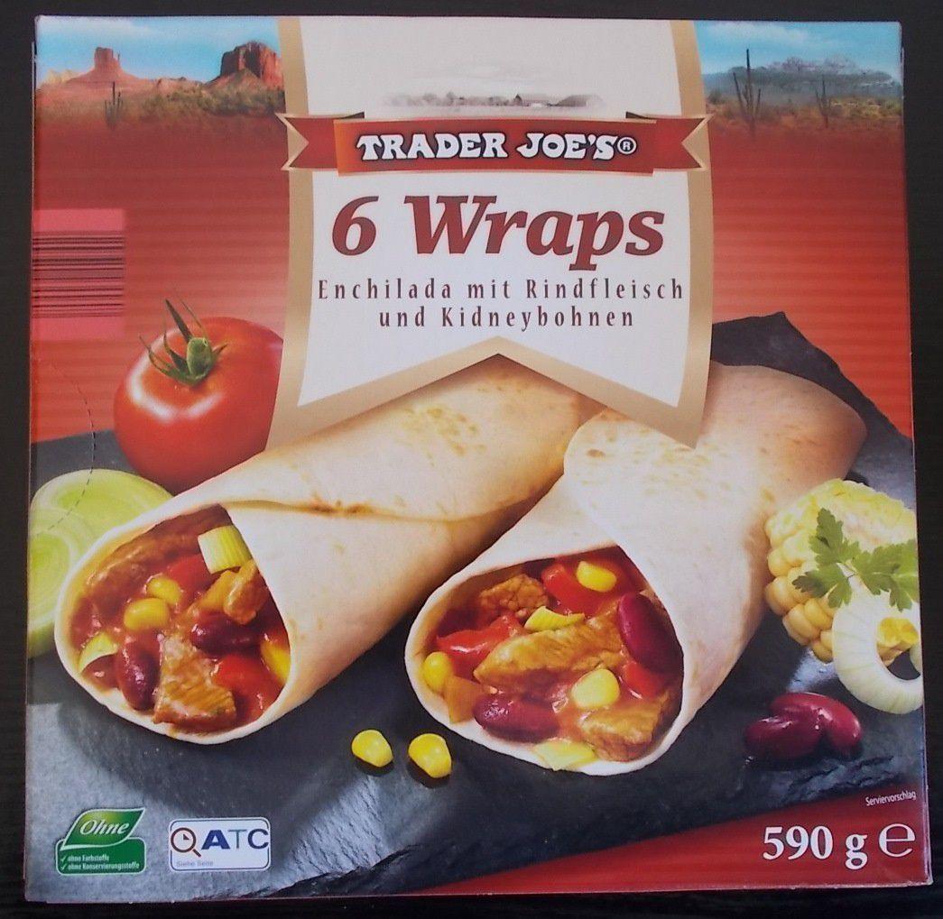 [Aldi Nord] Trader Joe's 6 Wraps Enchilada mit Rindfleisch