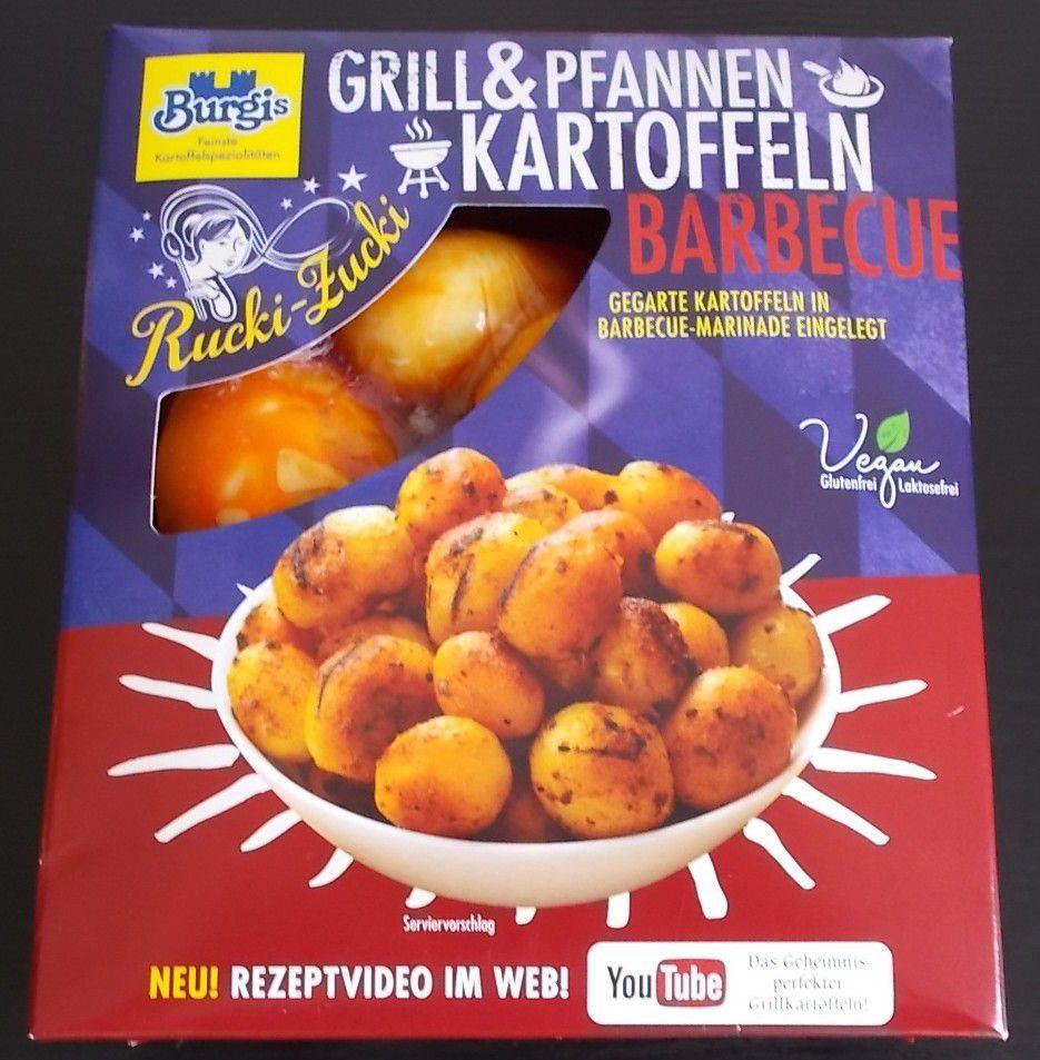 Burgis Grill & Pfannen Kartoffeln Barbecue Rucki-Zucki