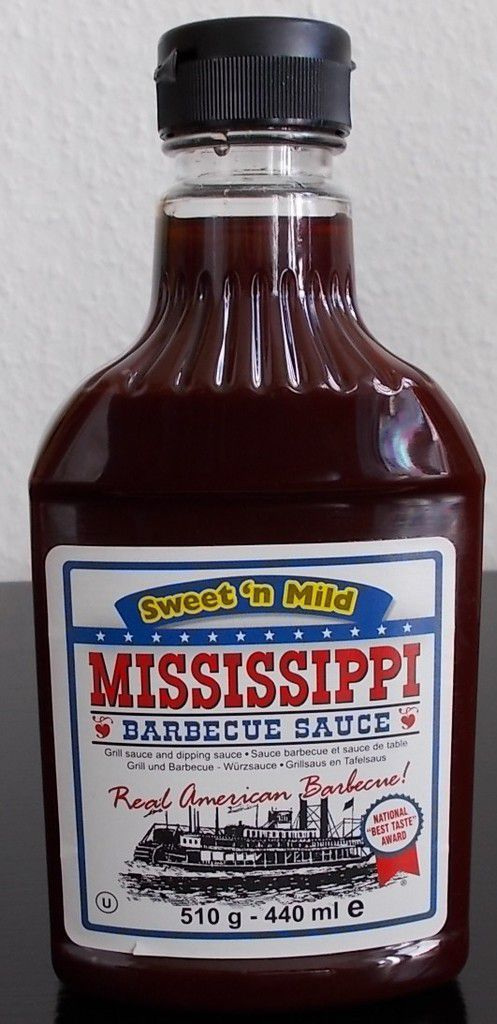 Mississippi Barbecue Sauce Sweet 'n Mild