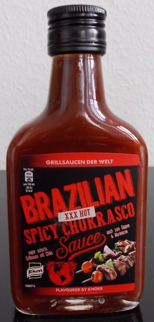 Knorr Grillsaucen der Welt Brazilian Spicy Churrasco Sauce XXX Hot