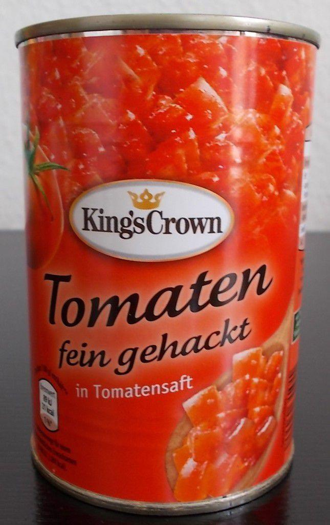 Tomaten Gehackt