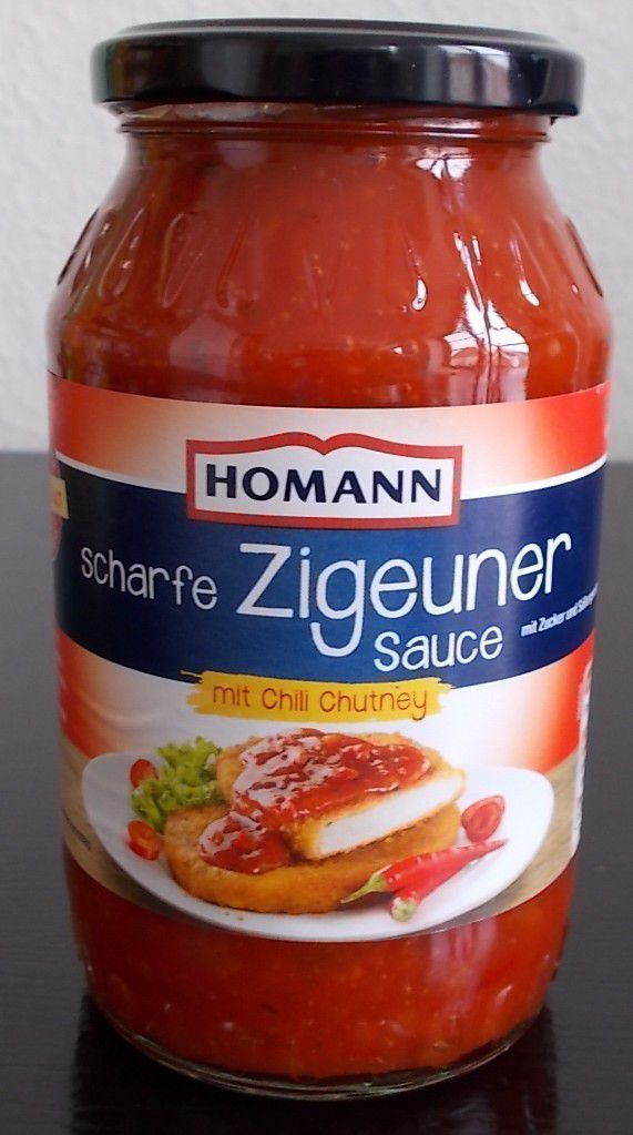 homann scharfe zigeuner sauce mit chili chutney produkttester von fertiggerichten und co. Black Bedroom Furniture Sets. Home Design Ideas