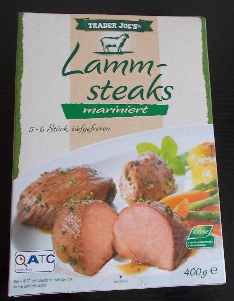 [Aldi Nord] Trader Joe's Lammsteaks mariniert (Lamm-Steaks)