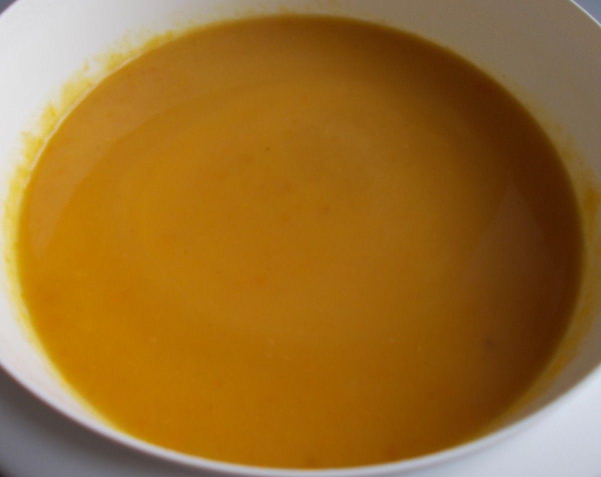Erasco Herbstsuppe Exotische Kürbissuppe mit Curry