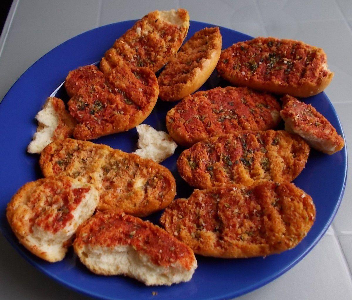 [Lidl] Sol & Mar Tomatenbrötchen (Pan tostado con tomate)