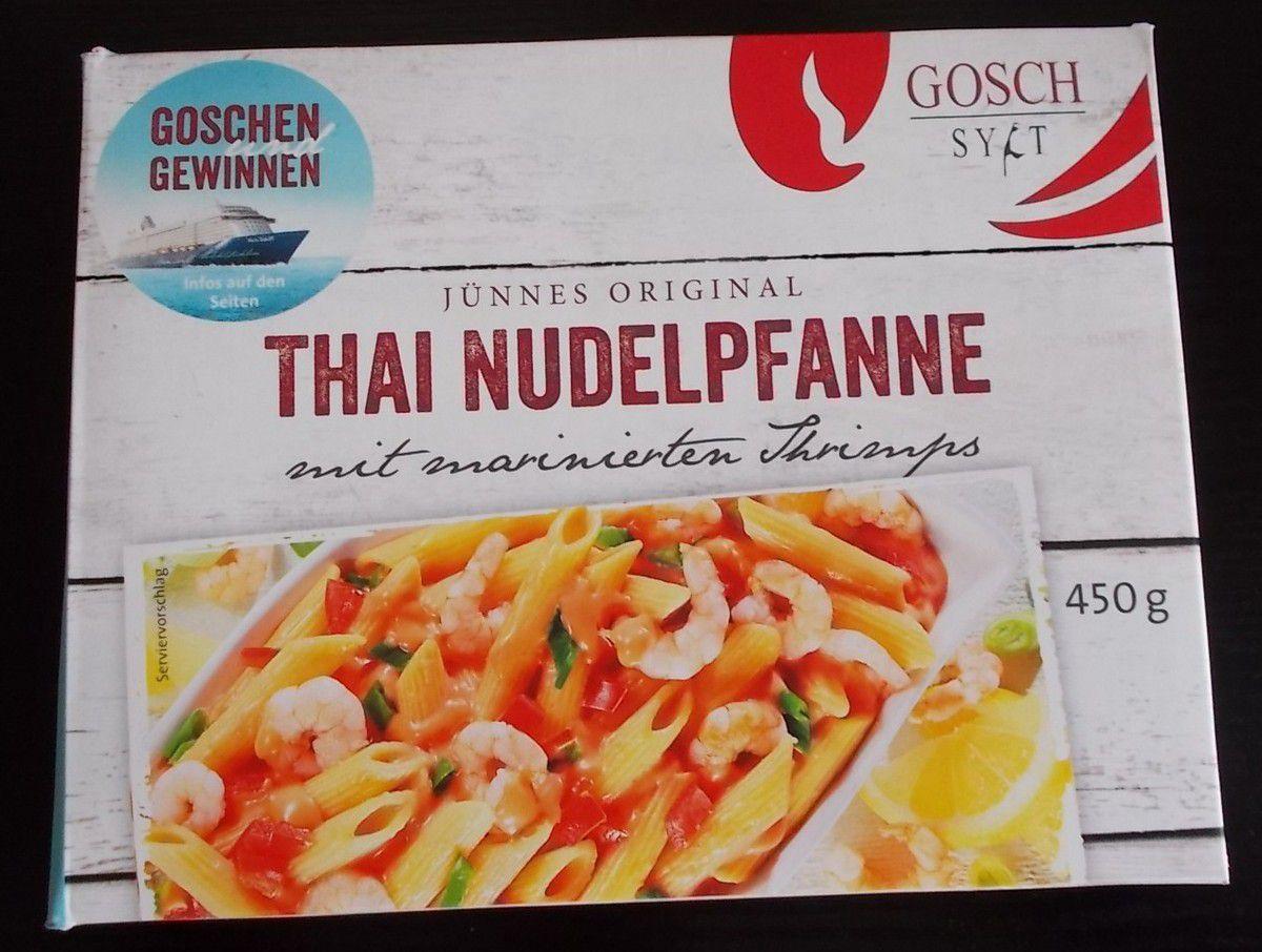 Gosch Sylt Jünnes Original Thai Nudelpfanne mit Shrimps