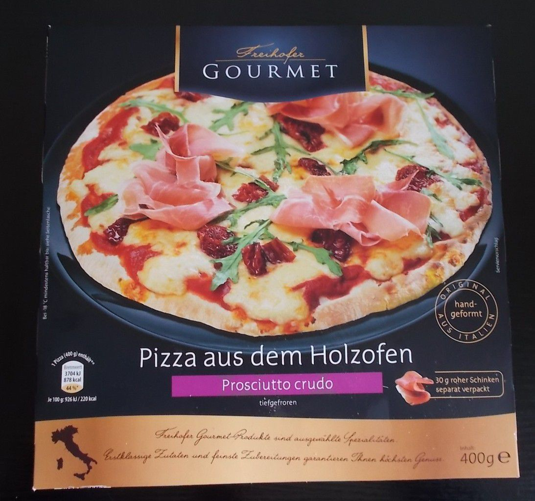 aldi nord freihofer gourmet pizza aus dem holzofen. Black Bedroom Furniture Sets. Home Design Ideas