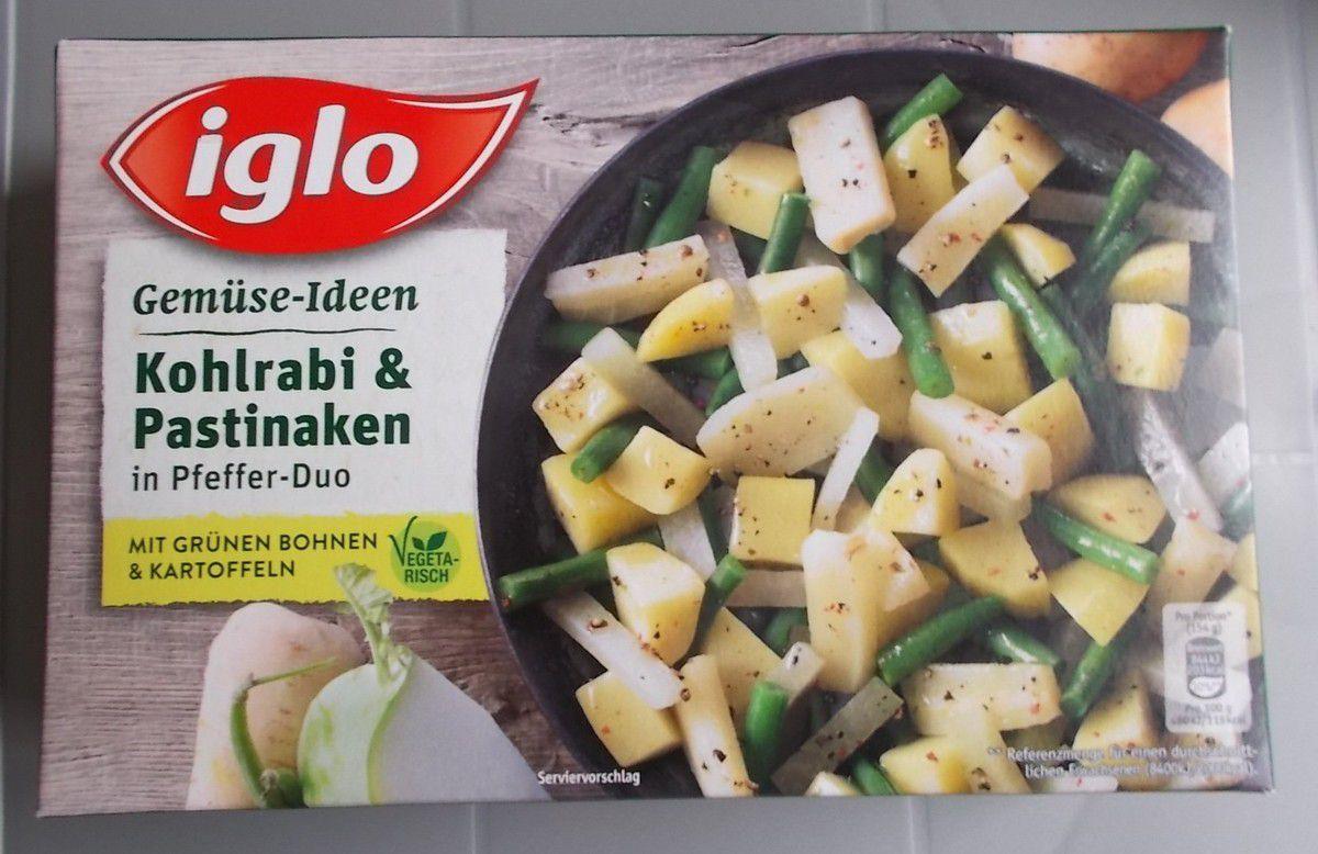 iglo Gemüse-Ideen Kohlrabi & Pastinaken in Pfeffer-Duo