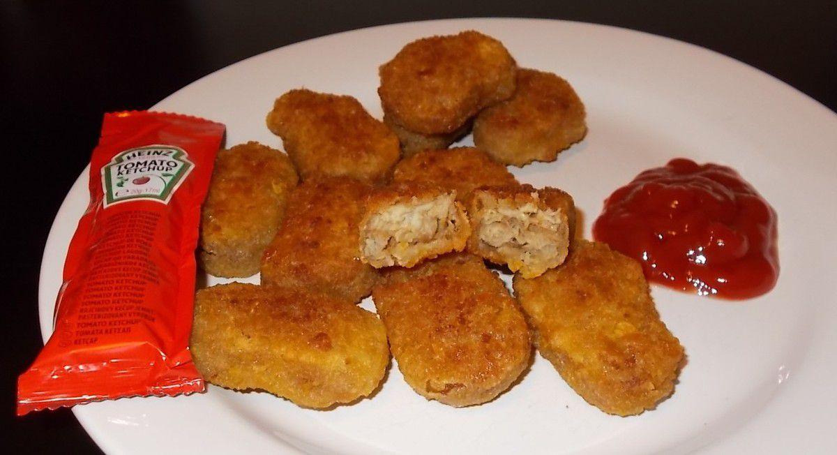 Tillman's Pulled Pork Nuggets BBQ Taste mit Cornflakes-Panade