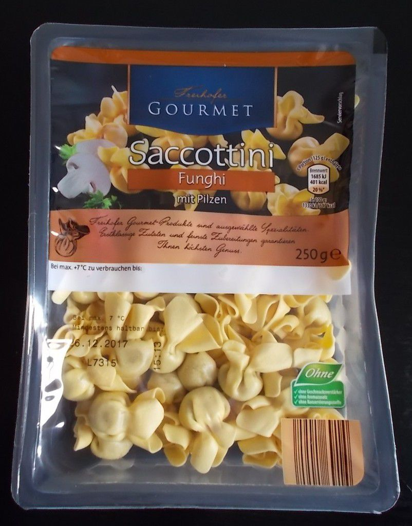 [Aldi Nord] Freihofer Gourmet Saccottini Funghi mit Pilzen