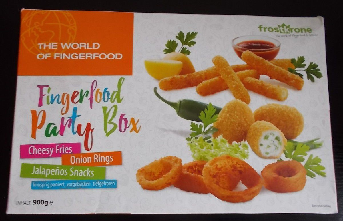 frostkrone Fingerfood Party Box The World of Fingerfood