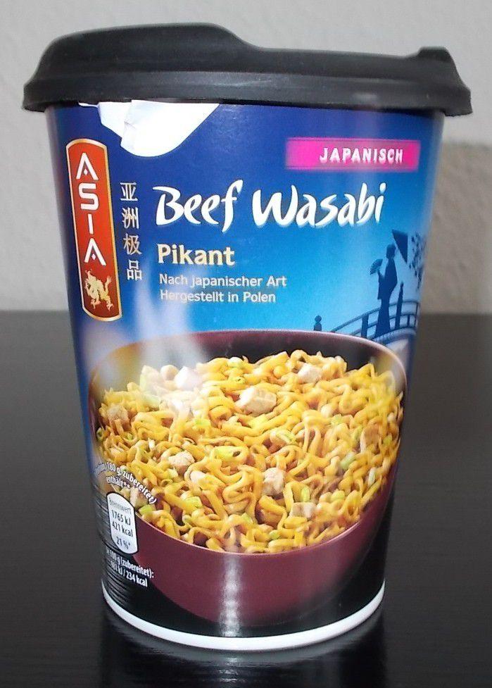 [Aldi Nord] Asia Beef Wasabi Pikant Japanisch Terrine