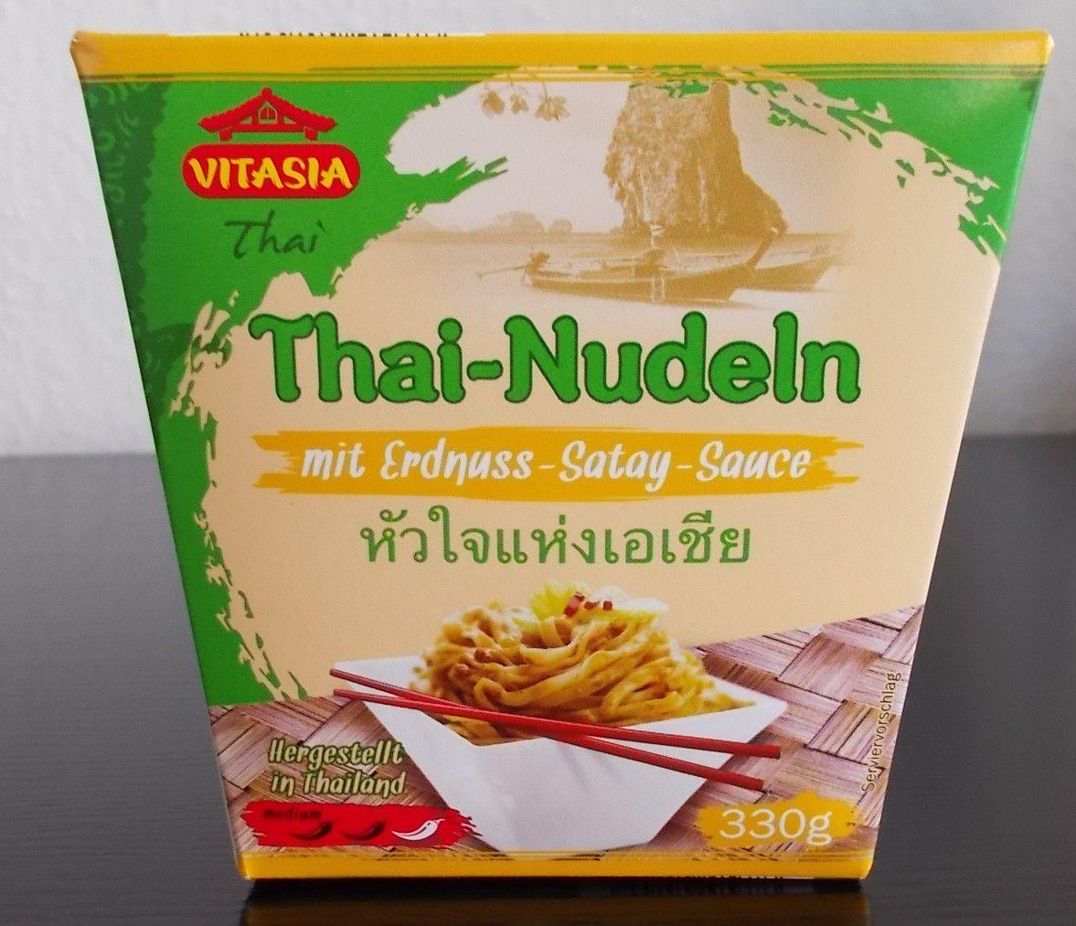 Lidl Vitasia Thai Nudeln Mit Erdnuss Satay Sauce Blogtestesser