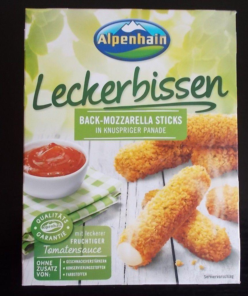 Alpenhain Leckerbissen Back-Mozzarella Sticks