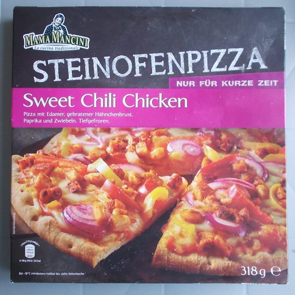 [Aldi Nord] Mama Mancini Steinofenpizza Sweet Chili Chicken