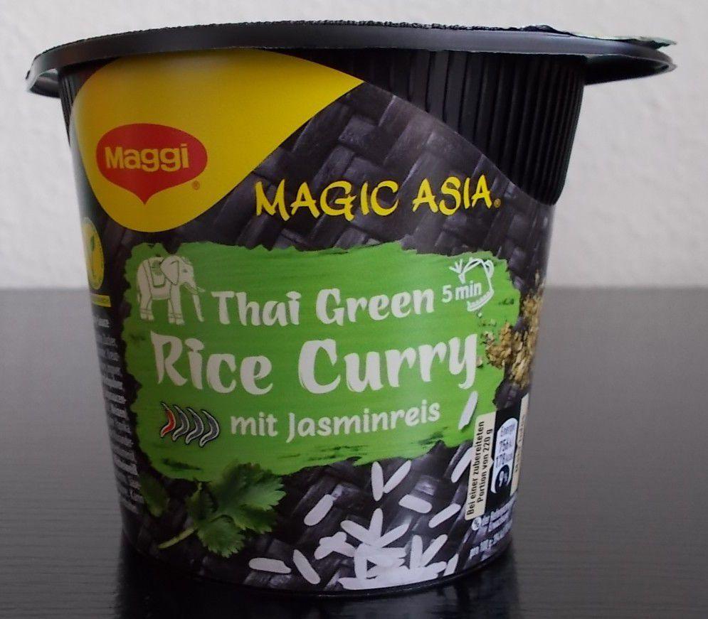 Maggi Magic Asia Thai Green Rice Curry mit Jasminreis