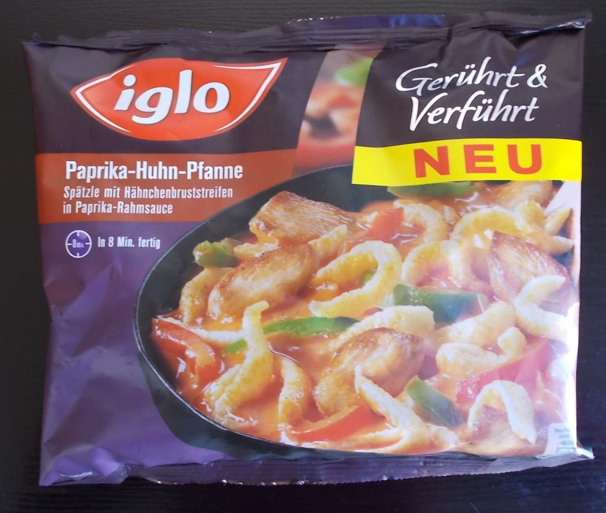 iglo Gerührt & Verführt Paprika-Huhn-Pfanne