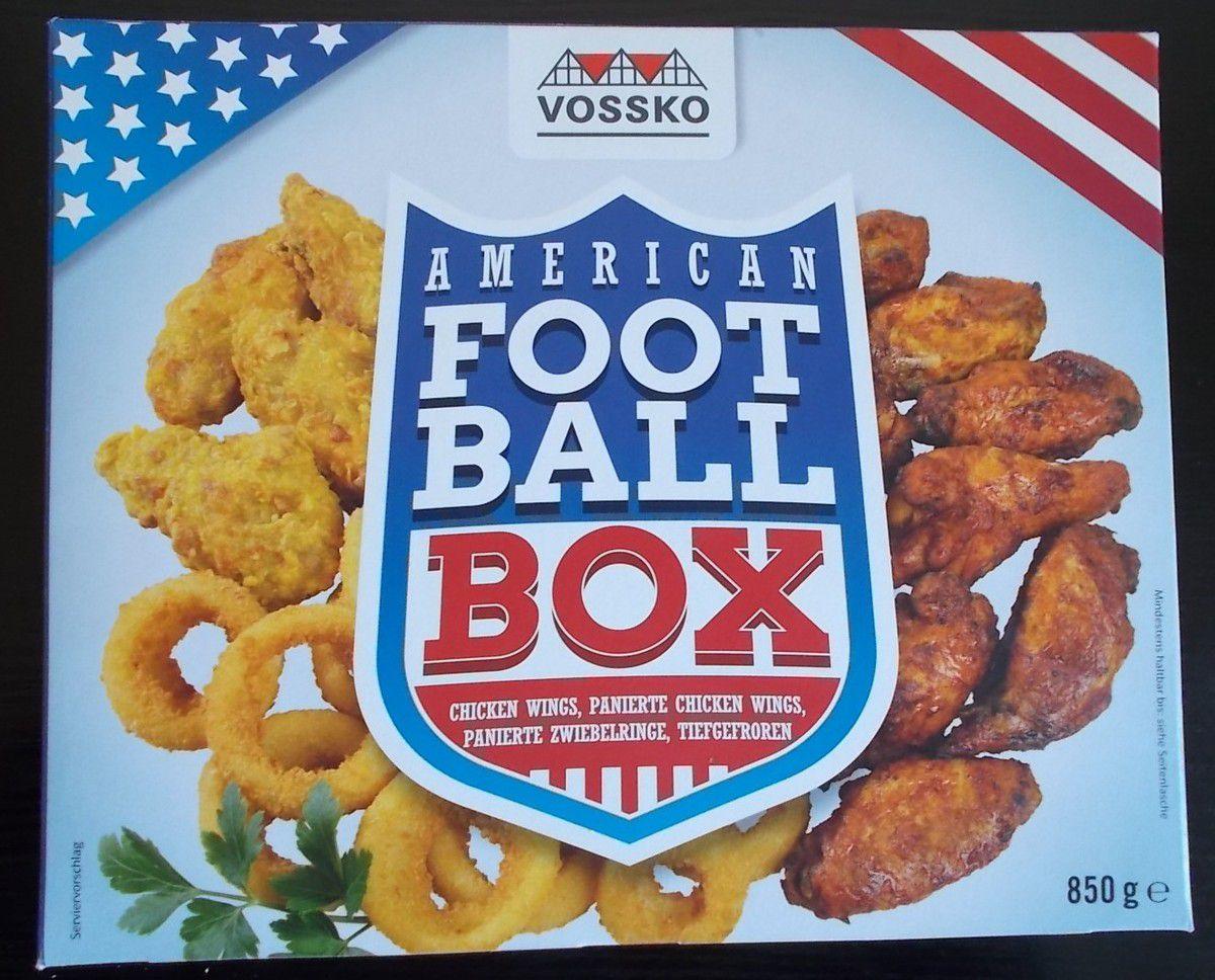 Vossko American Football Box