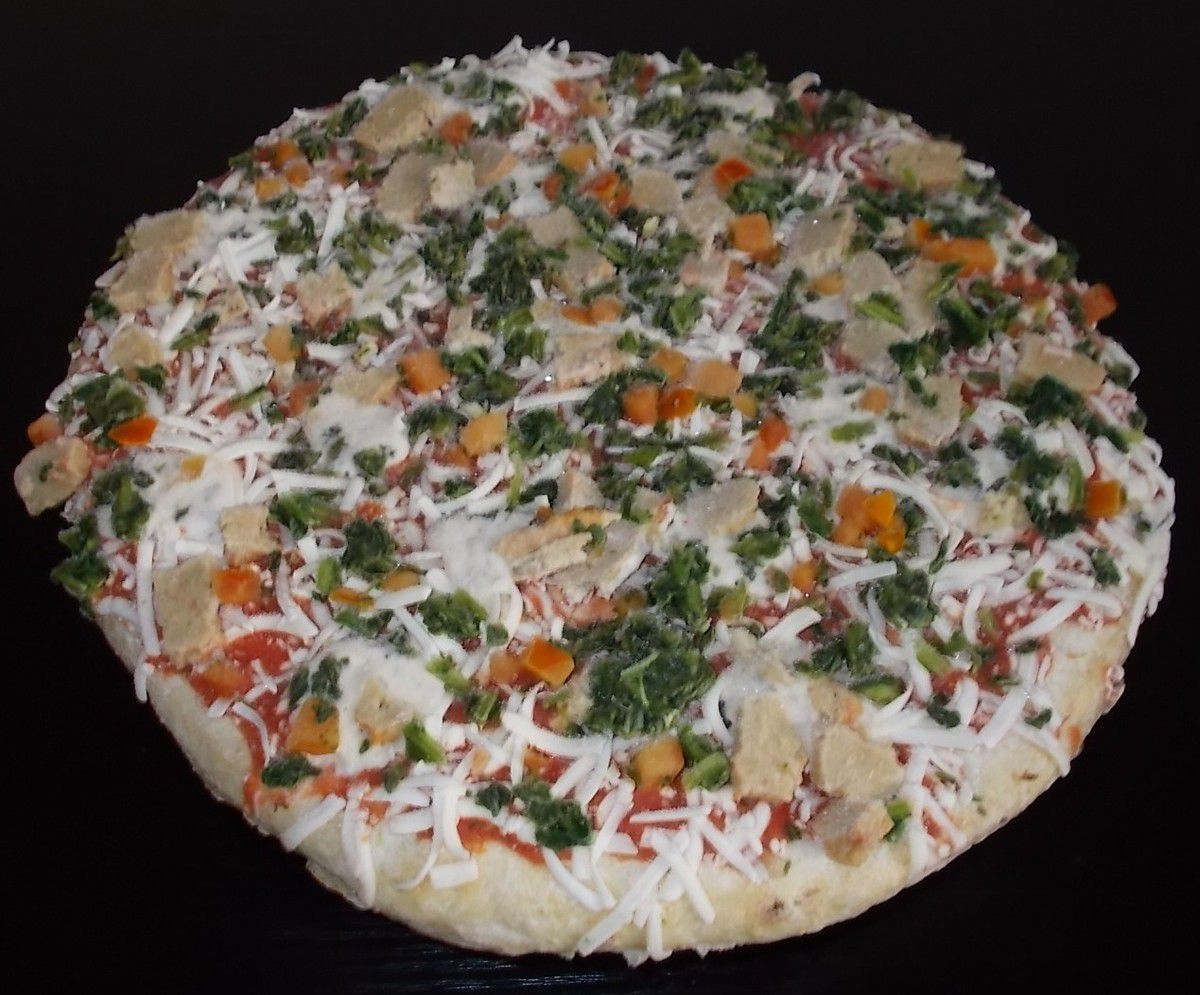 Dr. Oetker Veggie Pizza Die Zarte mit vegetarischen Filetstreifen
