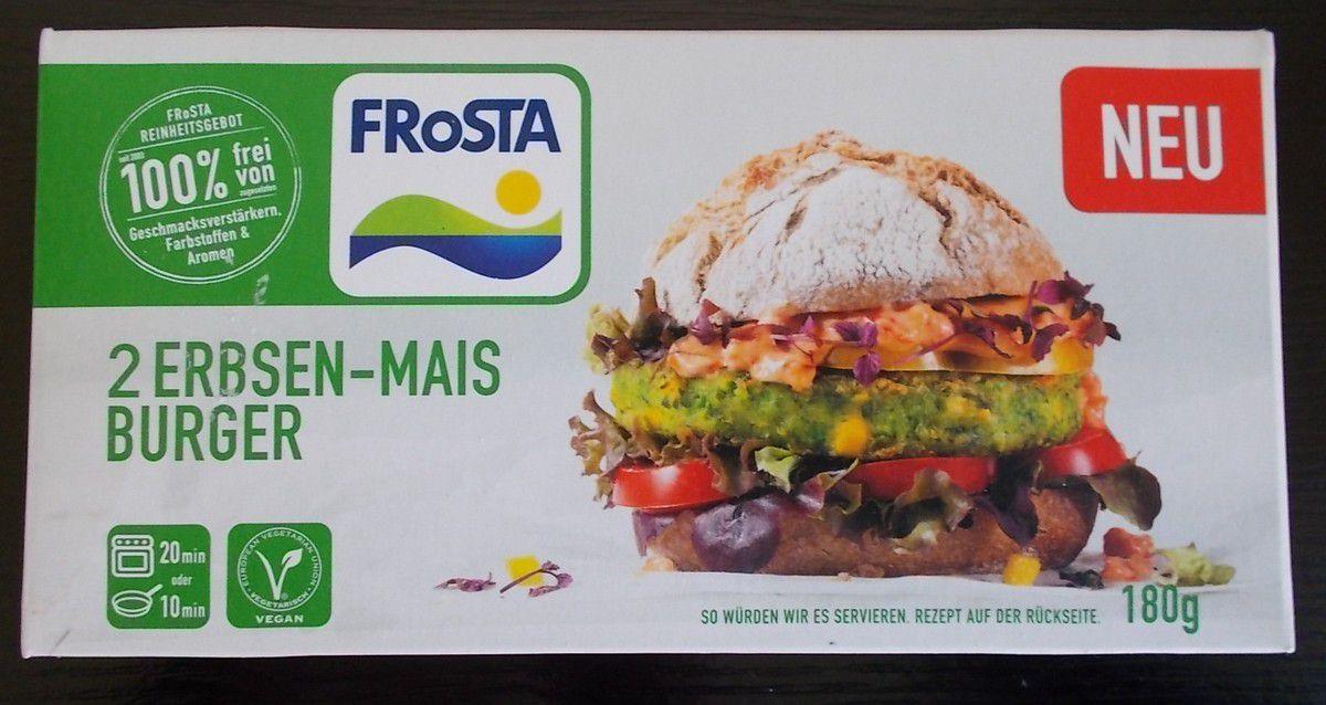FRoSTA 2 Erbsen-Mais Burger