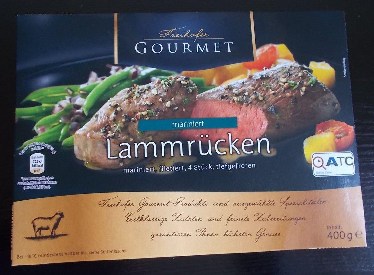 [Aldi Nord] Freihofer Gourmet Lammrücken mariniert