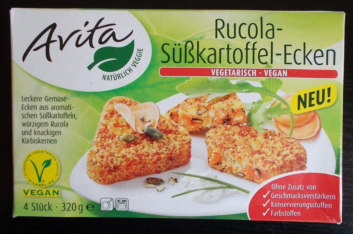 Avita Rucola-Süßkartoffel-Ecken vegetarisch - vegan