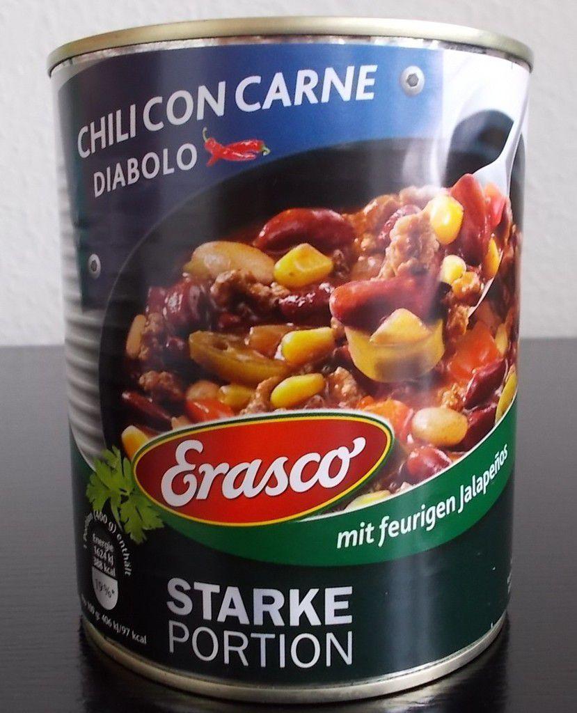 Erasco Starke Portion Chili con Carne Diabolo