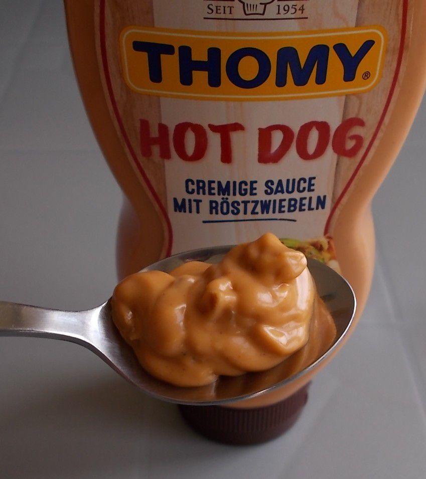 Thomy Würzsauce Hot Dog Sauce mit Röstzwiebeln
