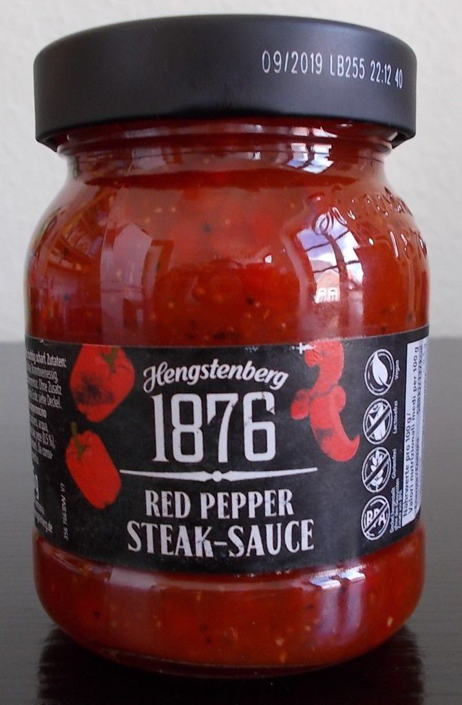 Hengstenberg 1876 Red Pepper Steak-Sauce