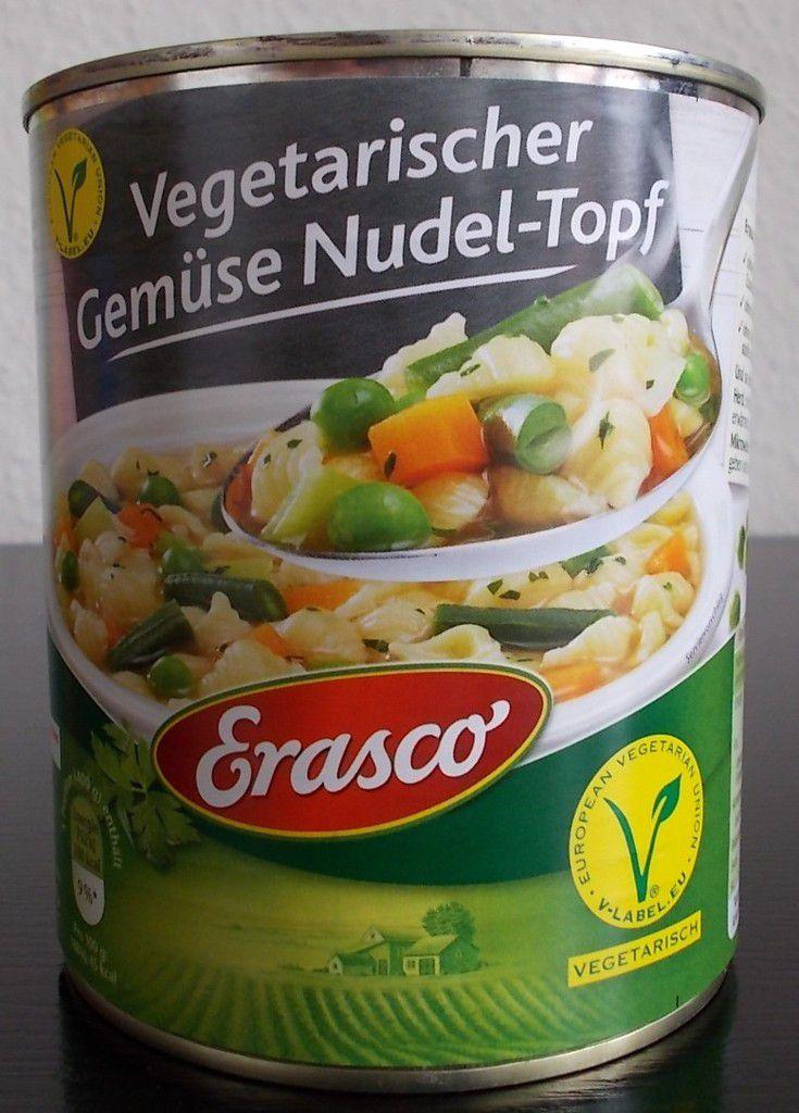 Erasco Vegetarischer Gemüse Nudel-Topf