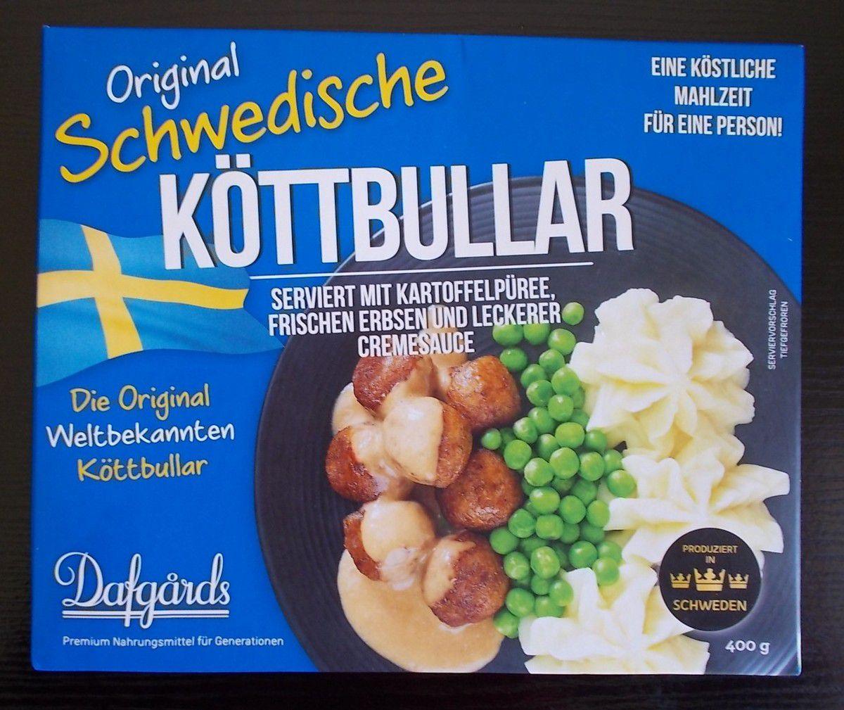 Dafgards Original Schwedische Köttbullar Menü