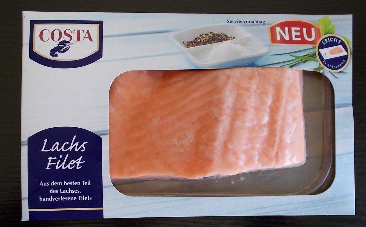 COSTA Lachs Filet aus dem besten Teil des Lachses