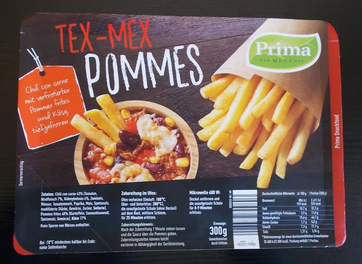 Prima Tex-Mex Pommes