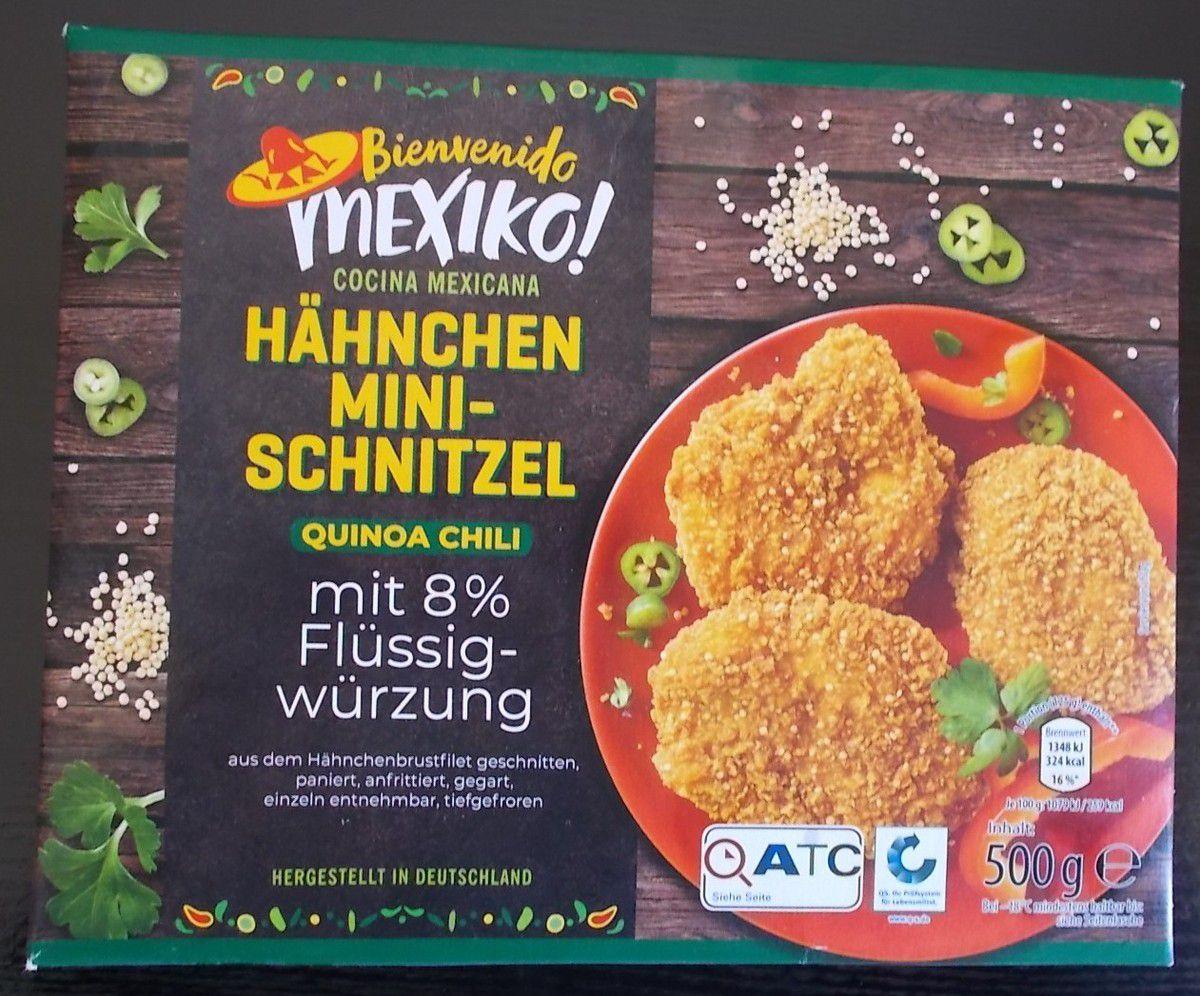 [Aldi Nord] Mexiko Hähnchen Mini-Schnitzel Quinoa Chili