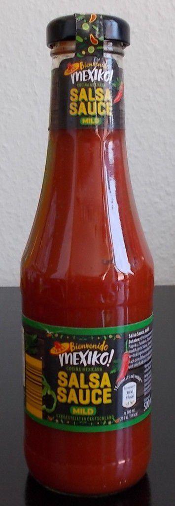 [Aldi Nord] Mexiko Salsa Sauce mild