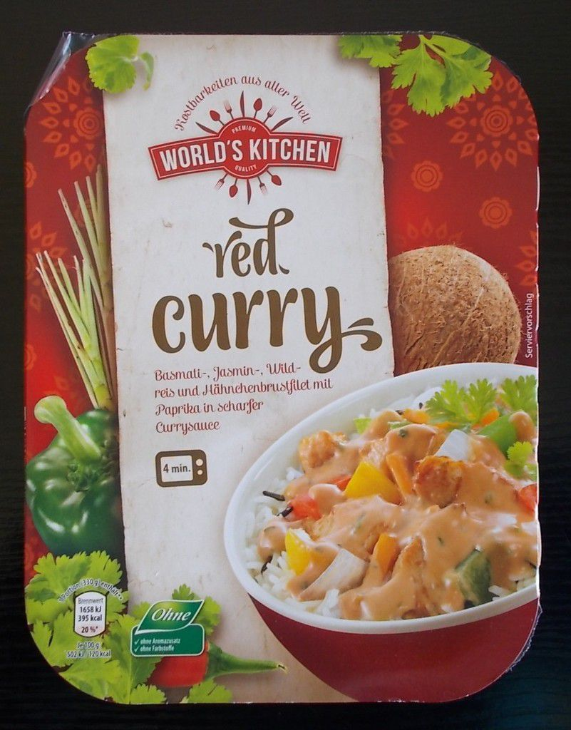 [Aldi Nord] World's Kitchen Red Curry