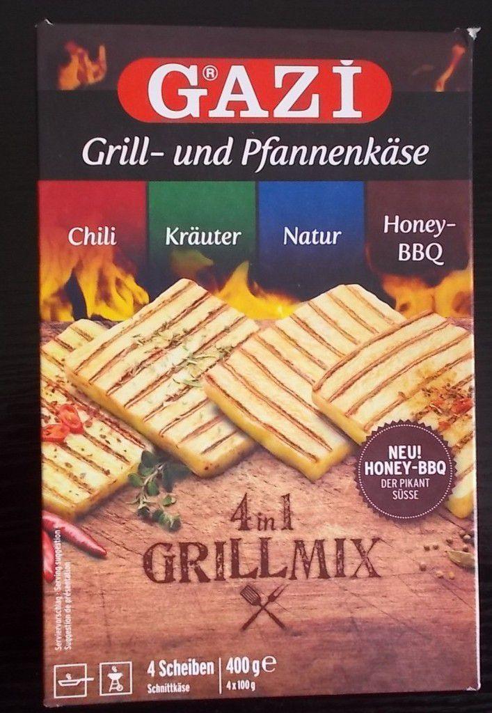 GAZI Grill- und Pfannenkäse 4 in 1 Grillmix