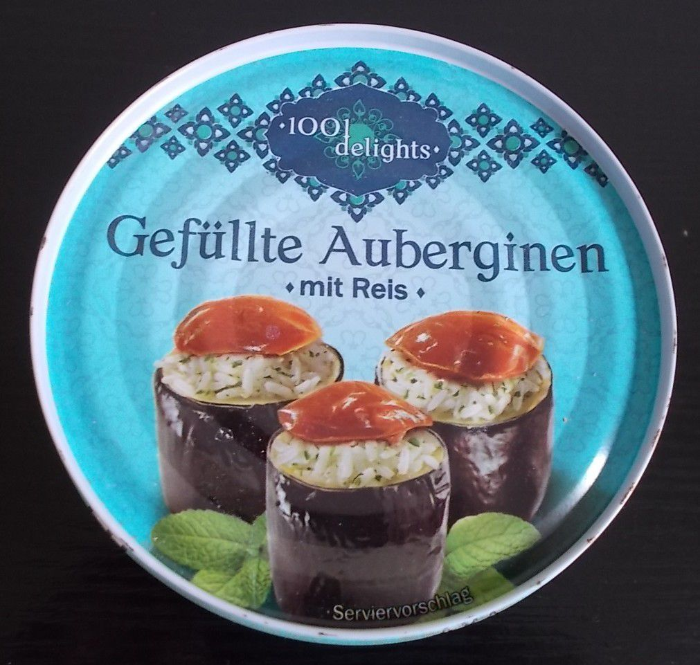 [Lidl] 1001 Delights Gefüllte Auberginen mit Reis