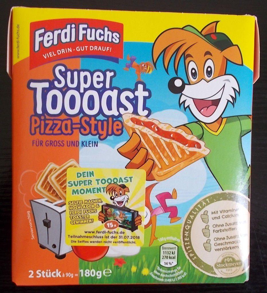 Ferdi Fuchs Super Toooast Pizza-Style