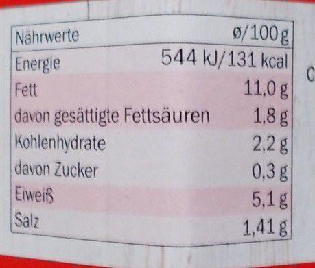 [Lidl] Nostja Rote pikante Peperoni Quark-Käse