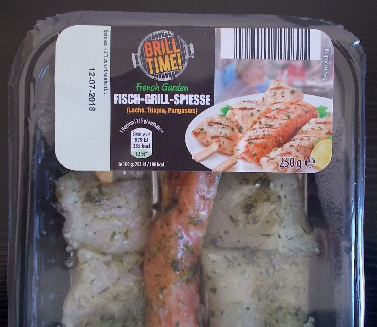 [Aldi Nord] Grill Time French Garden FISCH-GRILL-SPIESSE
