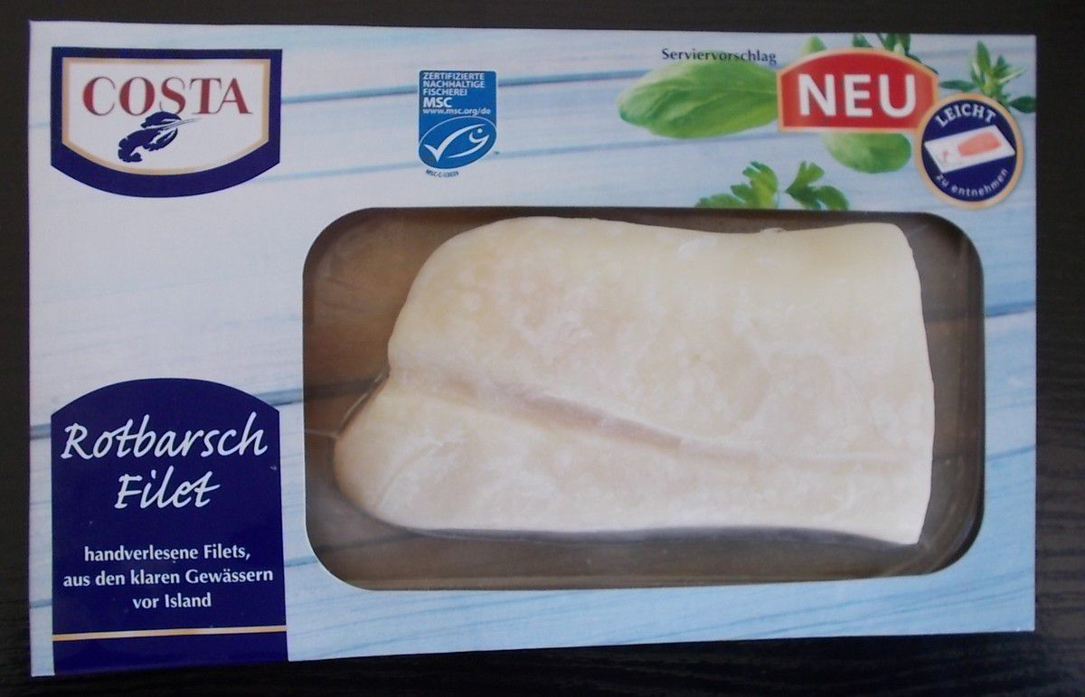 COSTA Rotbarsch Filet