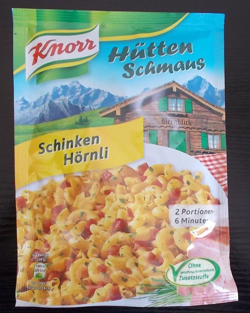 Knorr Hütten Schmaus Schinken Hörnli