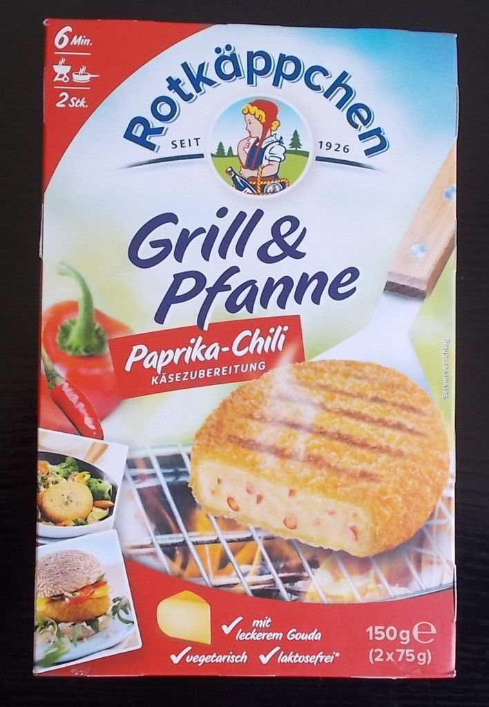 Rotkäppchen Grill & Pfanne Paprika-Chili Käse