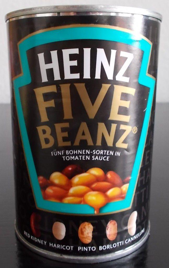 HEINZ Five Beanz Fünf Bohnen-Sorten in Tomaten Sauce