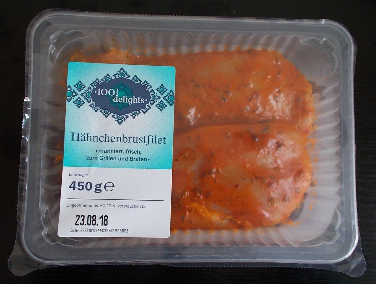 [Lidl] 1001 Delights Hähnchenbrustfilet mariniert